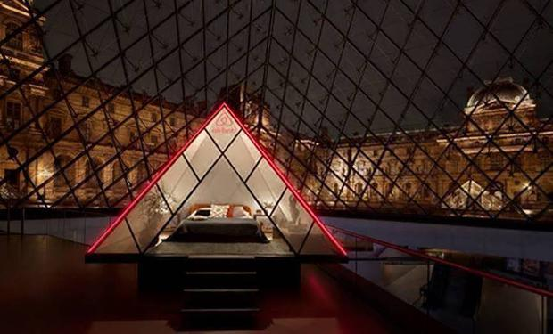 The Louvre museum in Paris will turn into the ultimate Airbnb for one night only