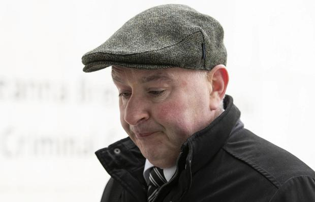 Patrick Quirke has pleaded not guilty to the murder of Bobby Ryan. Photo: Collins Courts