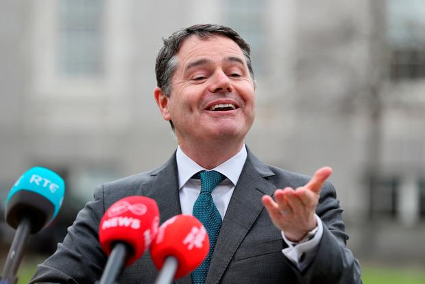 Taxing times: Finance Minister Paschal Donohoe. Photo: Brian Lawless/PA Wire