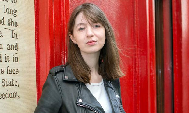 Author Sally Rooney. Photo: Tony Gavin