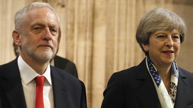 'Given his record, it is hard to see how Mr Corbyn could bring himself to vote for anything Mrs May proposes.' Photo: PA
