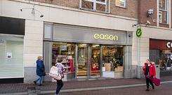Eason's Cruise Street shop in Limerick