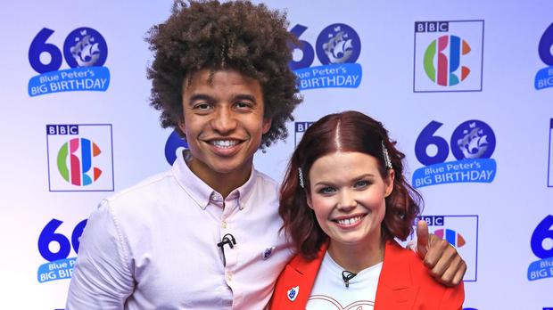 Blue Peter is welcoming a new resident dog to teh show (Peter Byrne/PA)