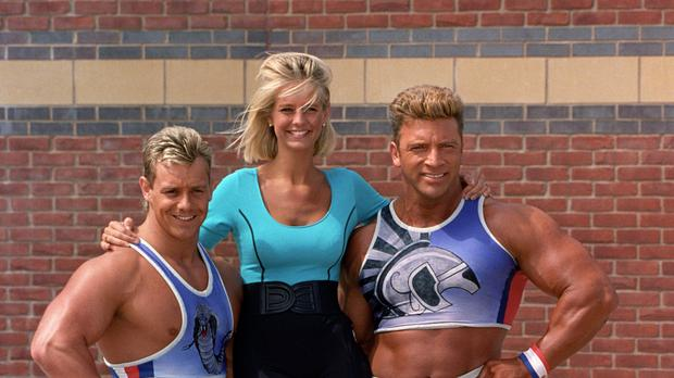 Cobra, left, starred on Gladiators in the 90s (PA Archive/PA Images)