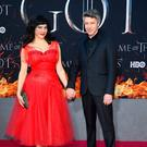 Camille O'Sullivan and Aidan Gillen attend the