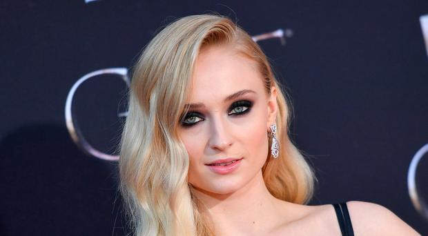 British actress Sophie Turner arrives for the
