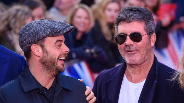 Simon Cowell on Ant McPartlin: It's the happiest I've seen him in a long time (Matt Crossick/PA)