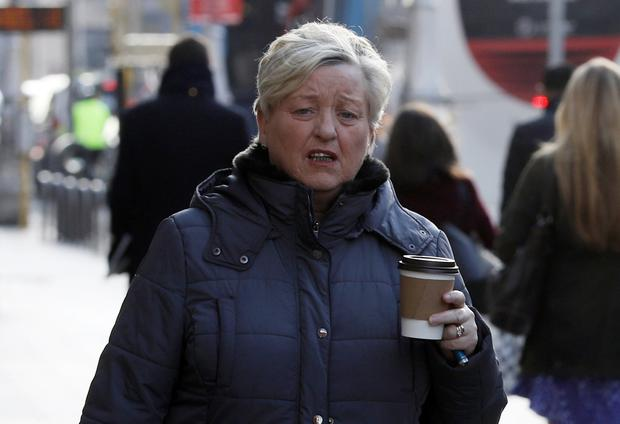 Dolores McMahon, of Betaghstown Wood, Bettystown, Co Meath, pictured leaving the Four Courts after she was awarded almost €75,000 damages following a Circuit Civil Court action.Pic: Collins Courts