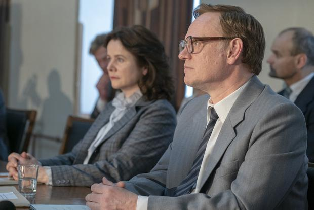 Nuclear fallout: Emily Watson and Jared Harris in Chernobyl