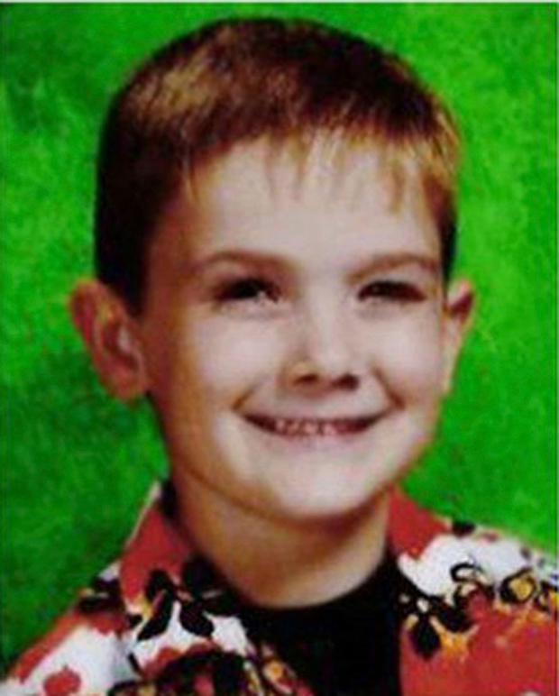 Mystery: A police handout of missing boy Timmothy Pitzen, who was last seen in 2011 when he was six