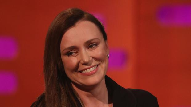 Keeley Hawes on the Graham Norton Show (Isabel Infantes/PA)