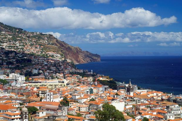 Funchal in Madeira, where Seán Quinn located a company to engage in massive stock market bets.