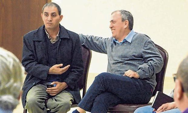 Connected by grief: Rami Elhahan and Bassam Aramin both lost children in the conflict
