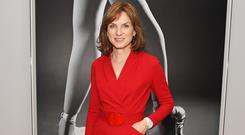 Fiona Bruce attends the opening night reception of the English National Ballet's production of
