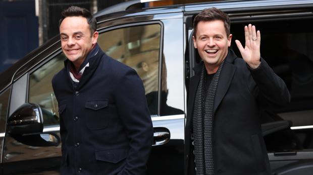 Anthony McPartlin, left, and Declan Donnelly have returned to present Britain's Got Talent (Jonathan Brady/PA)