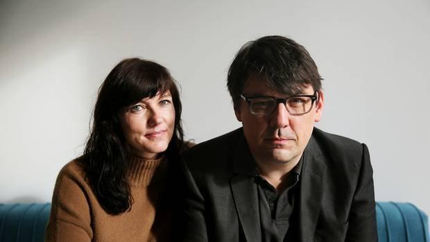 Comedian and writer Graham Linehan with his wife Helen. 'I've always hated bullies... In the end, I can sleep happily because I did the right thing'