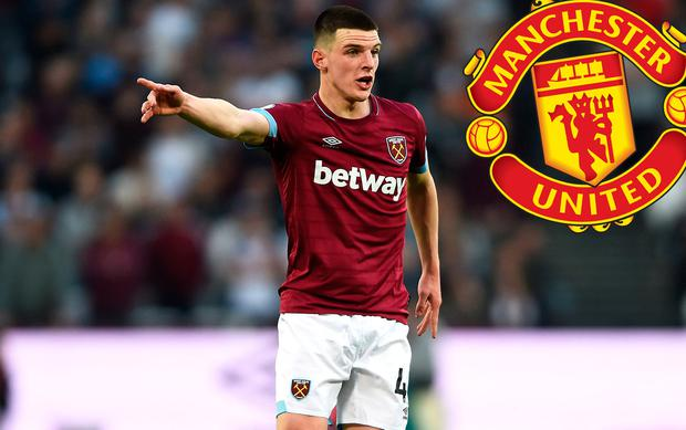 Manchester United may make a move for Declan Rice