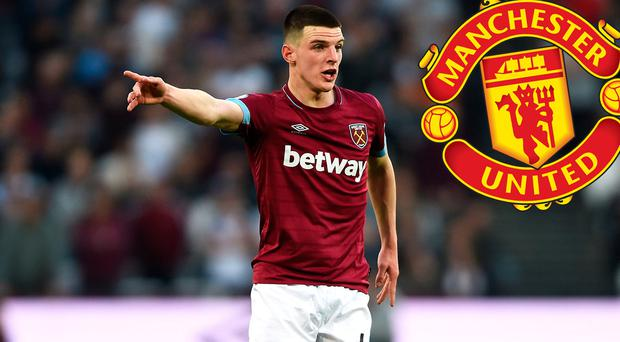 3dd81887f Declan Rice s focus  fully on West Ham  despite being linked with  Manchester United move