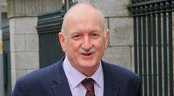 Unaware of the cost: Dublin's Lord Mayor Nial Ring. Photo: Gareth Chaney, Collins