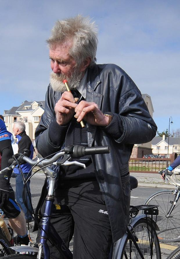 The legendary Jimmy Duffy from Blennerville, outside Tralee, was synonymous with the Ring of Kerry Cycle during the early days. Photo: Domnick Walsh