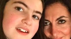 Laleh Shahravesh (right), a single mother from London, who campaigners have claimed is facing two years in jail in Dubai for allegedly using disparaging language about her ex-husband's new wife on Facebook Photo: Detained in Dubai/PA Wire
