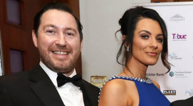 Philip Corr with his wife Kelly