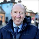 Minister for Transport, Tourism and Sport Shane Ross. Photo: Steve Humphreys