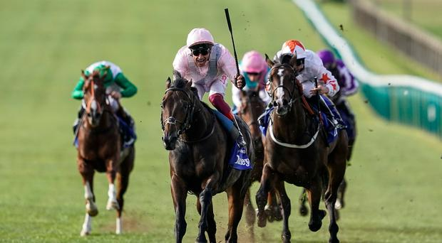 Gosden on weather alert for Too Darn Hot's Newbury return