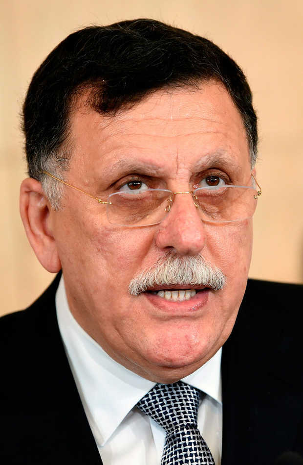 Fayez al-Sarraj: Libyan prime minister since 2016 after UN deal. Photo: AFP/Getty Images