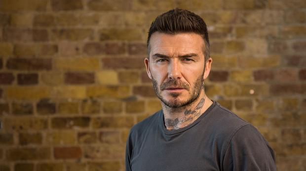 David Beckham appears to speak nine languages in the video (Malaria No More UK/PA)
