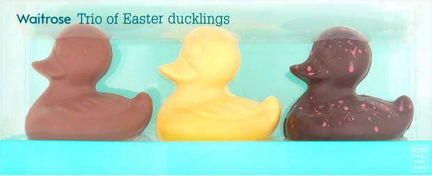 Waitrose has apologised after shoppers implied it was racist for labelling a dark chocolate Easter duckling