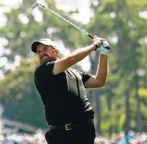 Shane Lowry in action at Augusta in 2016, the only time, from his three appearances, that he's made the Masters cut. Photo: Chris Trotman/Augusta National via Getty Images