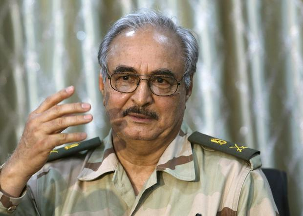 Ignored appeals for peace: LNA General Khalifa Haftar. Photo: Reuters