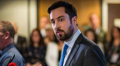 Eoghan Murphy: Housing Minister said big investors provided stability. Photo: Doug O'Connor
