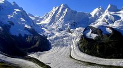 Slow-motion destruction: Glaciers in the Alps are disappearing more quickly than thought and will disappear before the next century unless global warming is halted