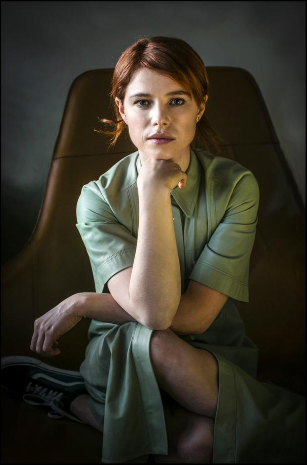 Actress Jessie Buckley. Photo: David Conachy