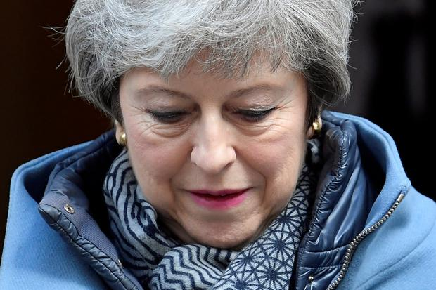 'The UK's grubby, tattered and battered PM should resign immediately' Photo: Reuters