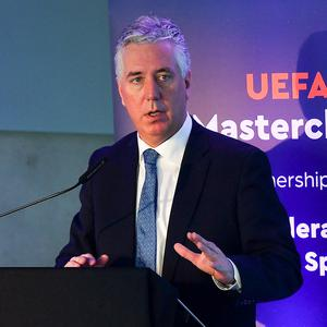 John Delaney will not be invited to UEFA committee meetings or executive committee meetings while investigations are ongoing.