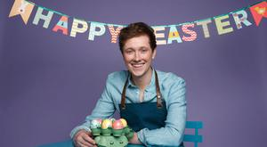 Easter feast: Chef Adrian Martin. Photo: Fran Veale
