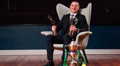 Corofin's Kieran Molloy who was crowned the AIB GAA Club Footballer of the Year for 2018/19. Photo by Stephen McCarthy/Sportsfile