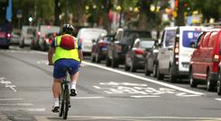 Number of cyclists commuting in Dublin city drops for first time in a decade
