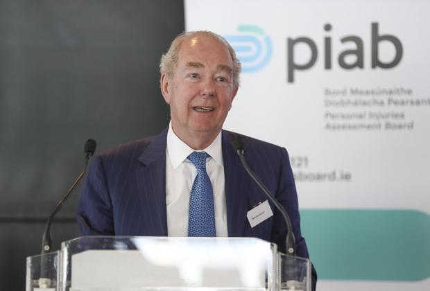 Critical of slow pace of insurance reform: Former High Court president Mr Justice Nicholas Kearns. Photo: Conor McCabe Photography