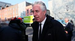 'The fact Mr Delaney remains as the association's executive vice president is also a matter of disquiet for many.' Photo: Brian Lawless/PA Wire
