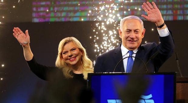 Netanyahu claims 'colossal' victory for right-wing alliance