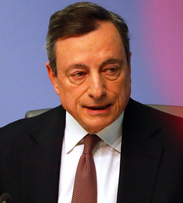 ECB president Mario Draghi. Photo: REUTERS/Kai Pfaffenbach