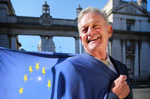 Peter Casey who is running in the European Election. Photo: David Conachy