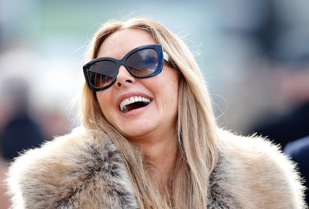 Carol Vorderman attends day 3 'St Patrick's Thursday' of the Cheltenham Festival at Cheltenham Racecourse on March 15, 2018 in Cheltenham, England. (Photo by Max Mumby/Indigo/Getty Images)