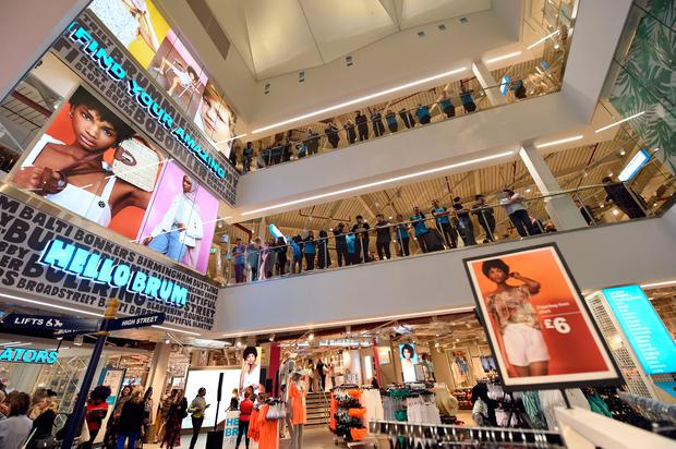 General view during the VIP Launch of the worlds largest Primark store on April 10, 2019 in Birmingham, England. (Photo by Stuart C. Wilson/Getty Images for Primark)