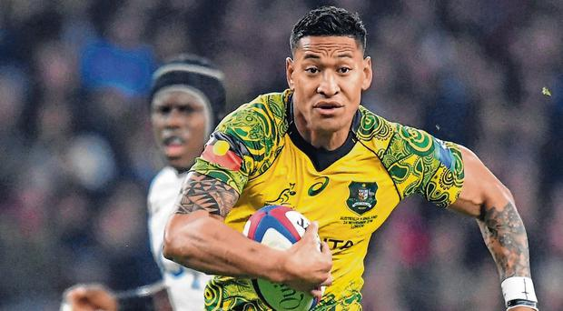 Israel Folau's Australian teammate Will Genia says homophobic rant was 'completely wrong'