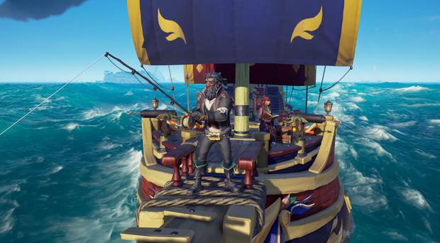Sea of Thieves: Fishing for food and fun will also be an option in the new update